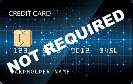 no credit card v1